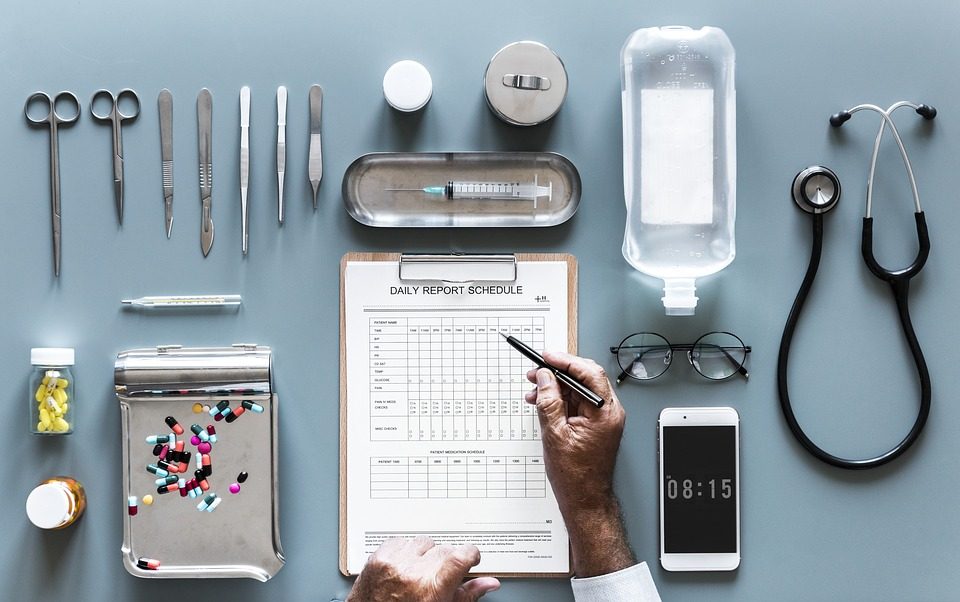 Checklist, Clinic, Daily Report, Diagnosis, Doctor