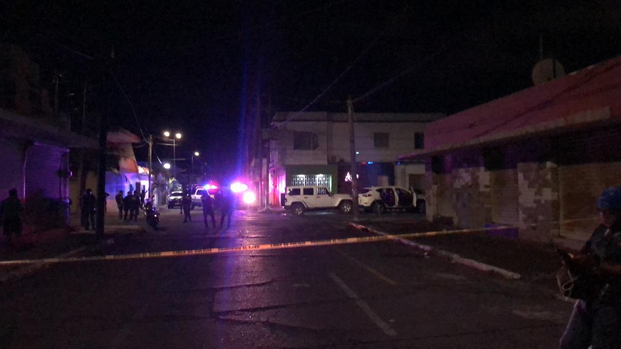 Balacera en colonia Zaragoza de Veracruz podría haber un muerto