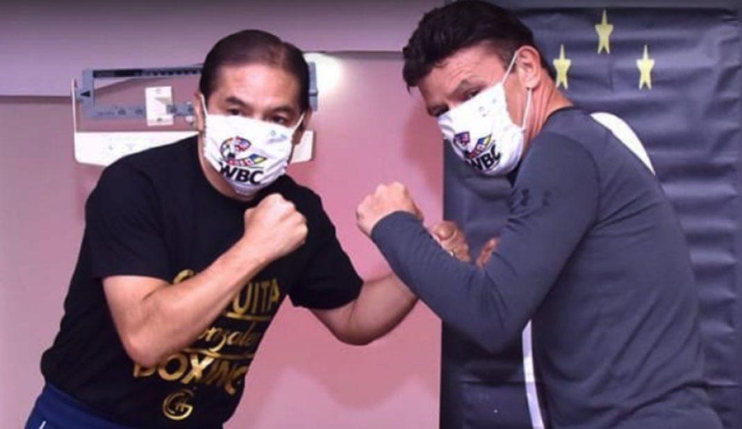 Chiquita González y Daniel Zaragoza se suben al ring