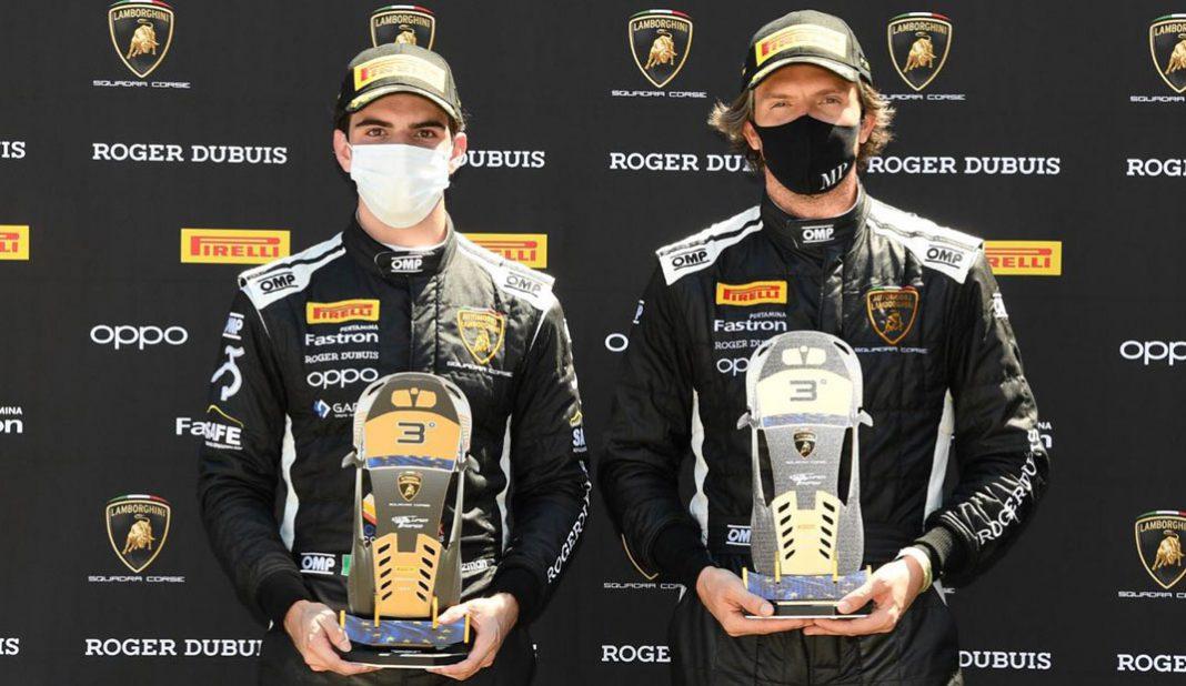 Raúl Guzmán sube al podio en el Súper Trofeo Europa