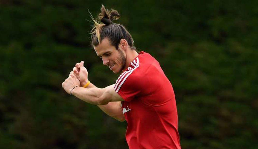 Bale juega golf luego de no ser convocado por Real Madrid