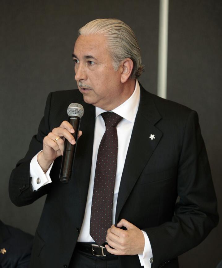 José Manuel Urreta deja la Concamin en común acuerdo con el dirigente nacional