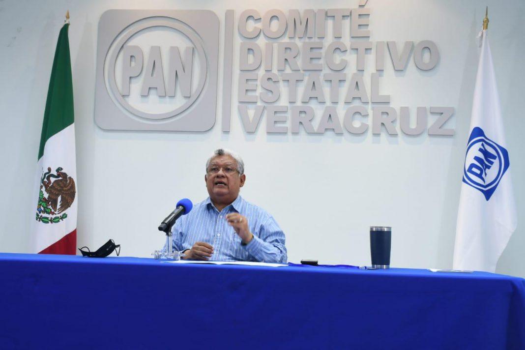 PAN denunciará a Cuitláhuac García por presunto desvío de recursos a campaña de Muñoz Ledo