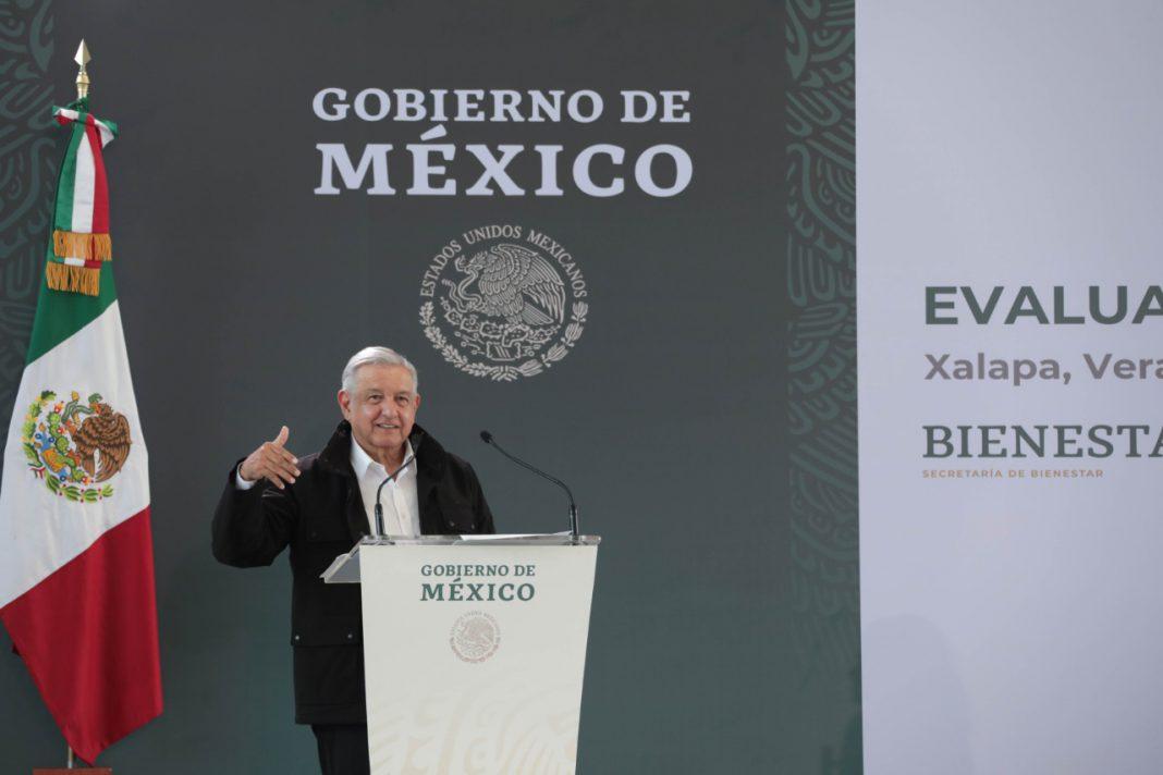 AMLO: Se dieron 111 mil créditos de 25 mil pesos en Veracruz