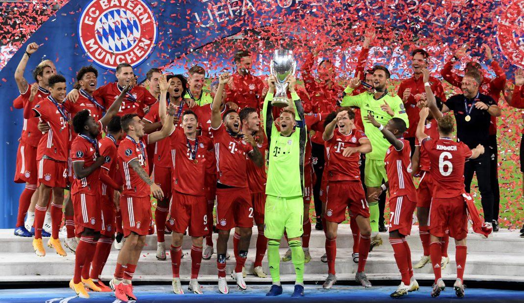 CABEZA: Bayern campeón de la Supercopa de Europa