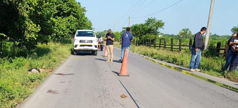 Fallece mujer al parecer por accidente cerca de Arboleda San Miguel.