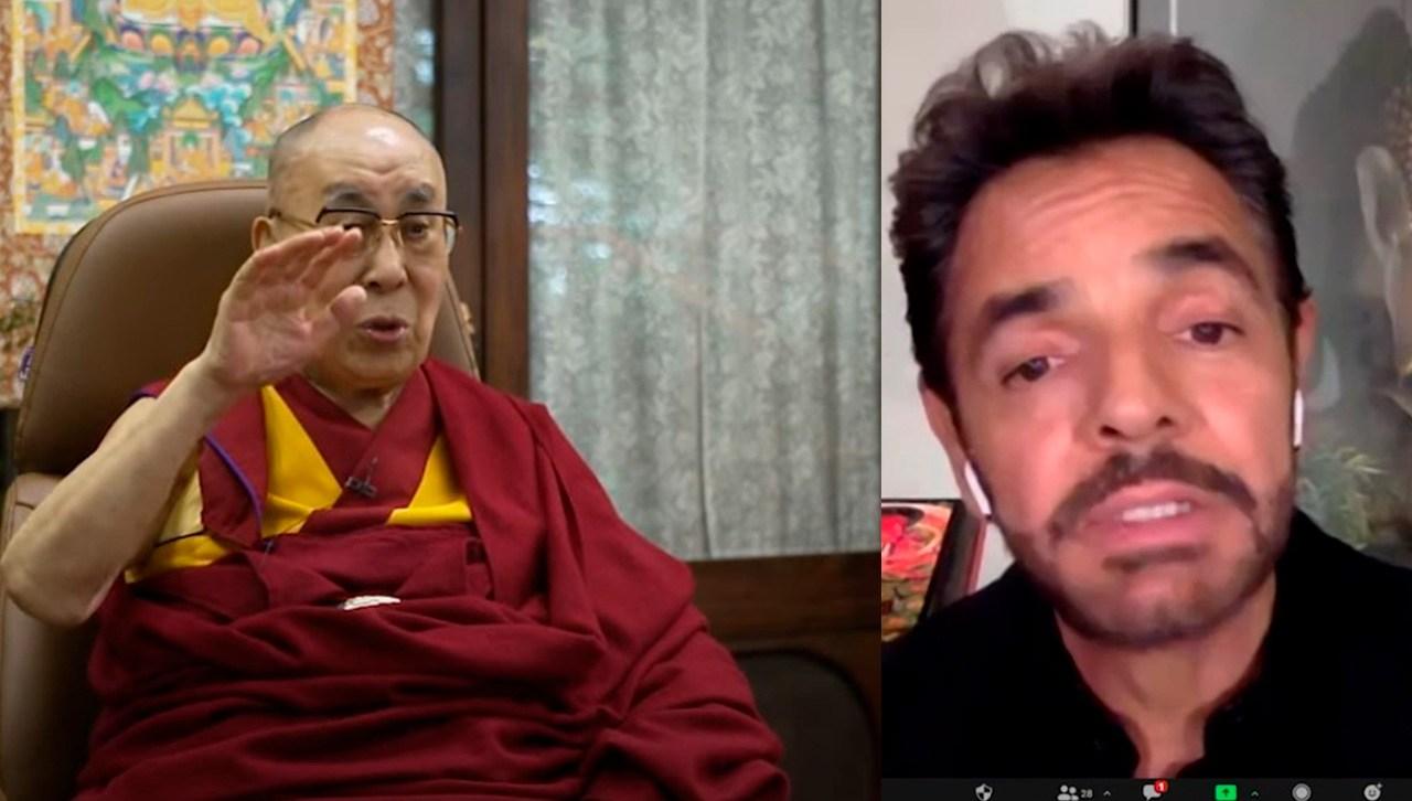 Eugenio Derbez entrevista al Dalai Lama.