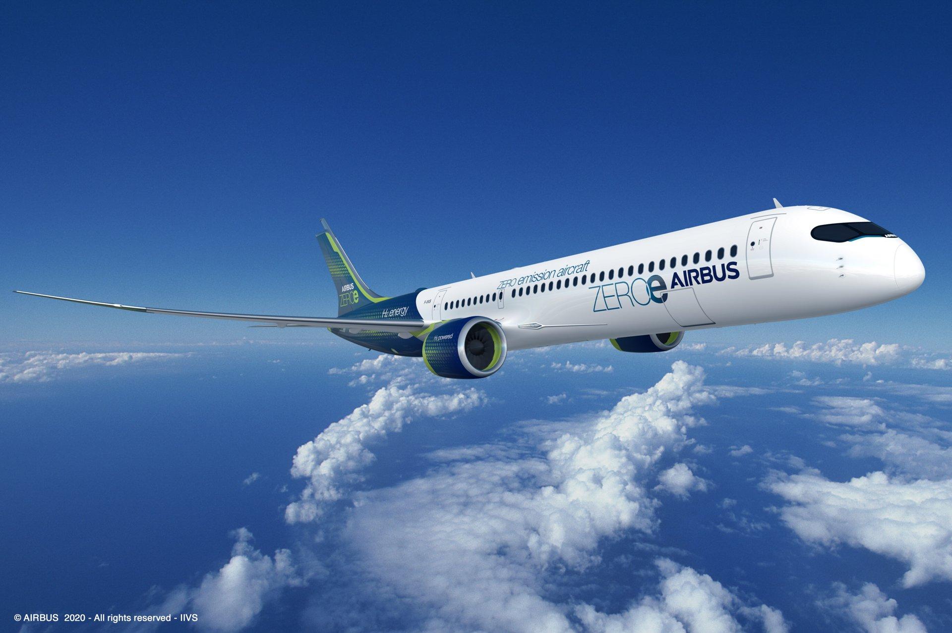 Airbus presenta aviones que emiten 50% menos de CO2.