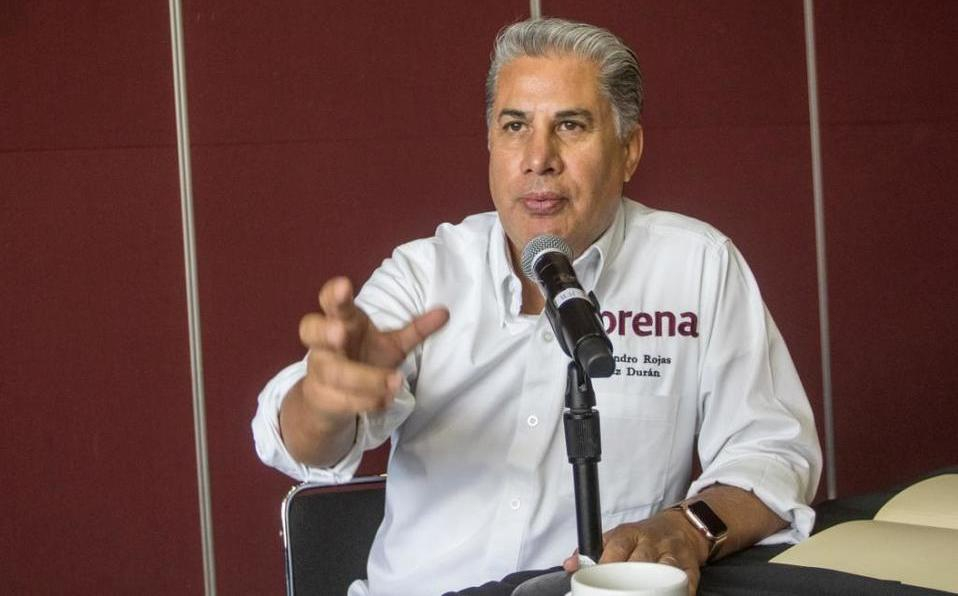"""Alejandro Rojas exigirá """"piso parejo"""" en elecciones de MORENA."""