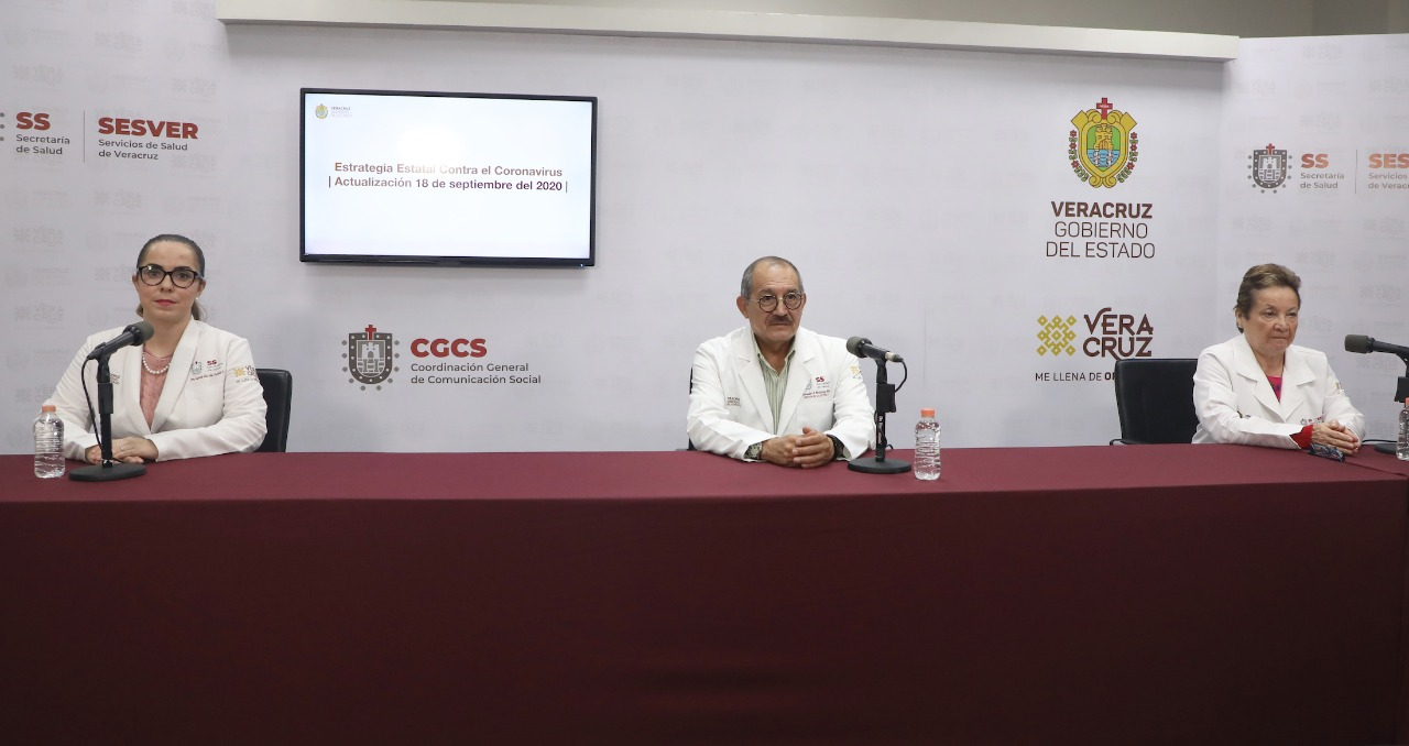 Coronavirus en Veracruz: Más de 50 mil casos positivos