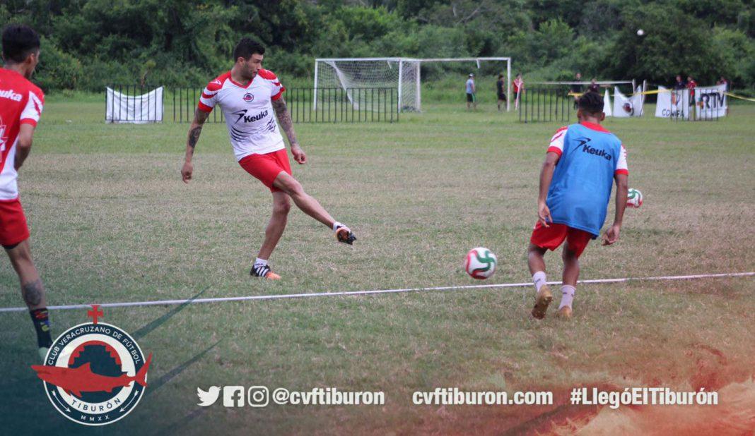 CVF Tiburón contra Atlético Veracruz en pretemporada