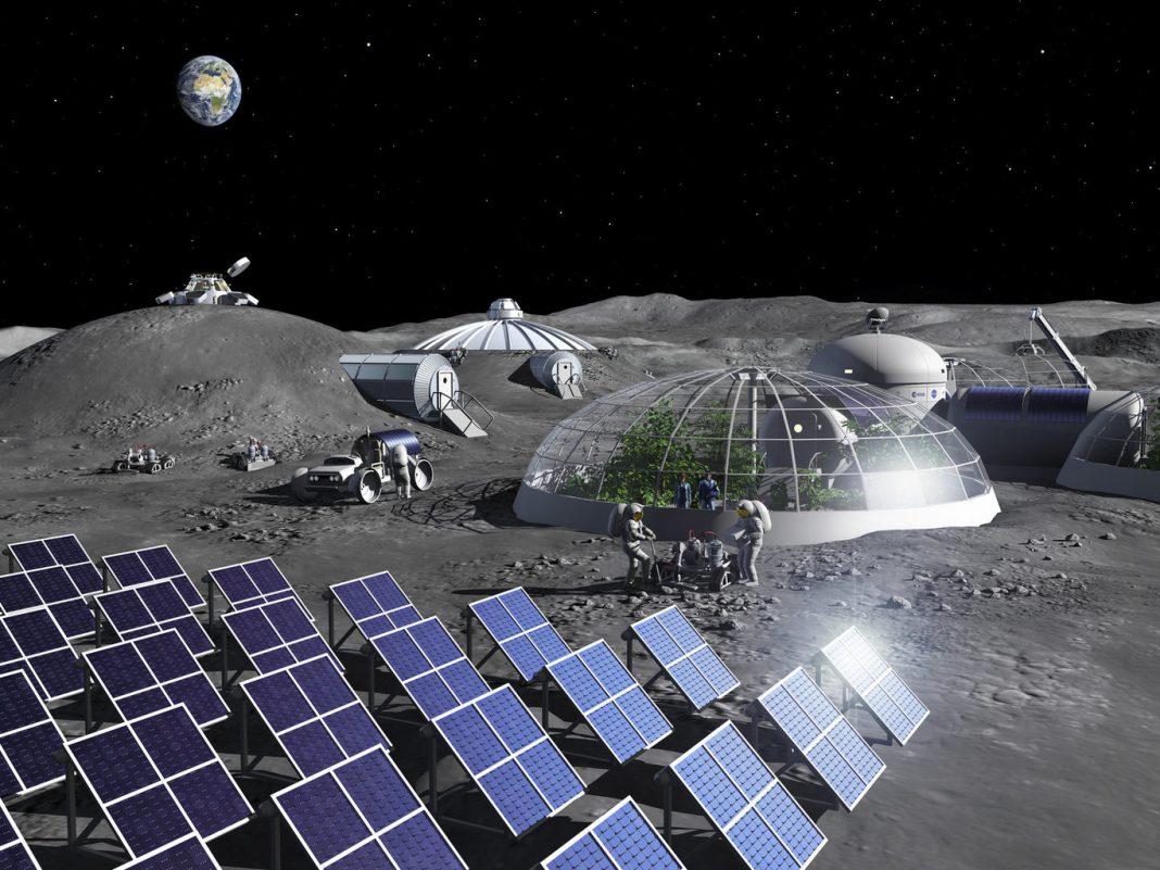 La NASA quiere vender suelo lunar a privados