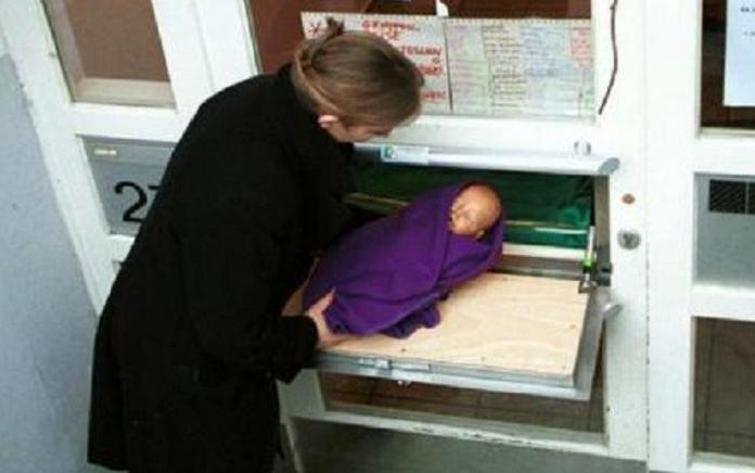 En Bruselas, los bebés se pueden abandonar anónimamente