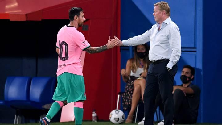 Barcelona gana 3-1 a Girona. Excelente actuación de Messi