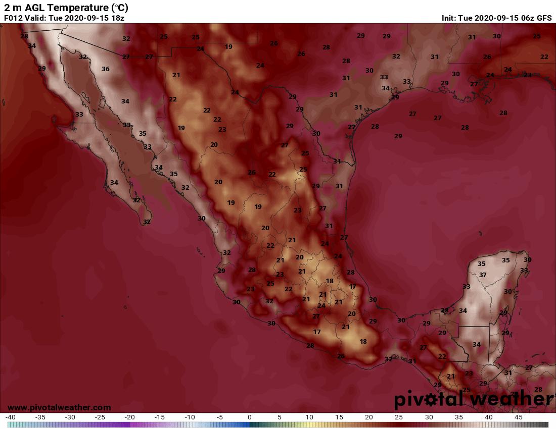 El clima en Veracruz; hay que extremar precauciones
