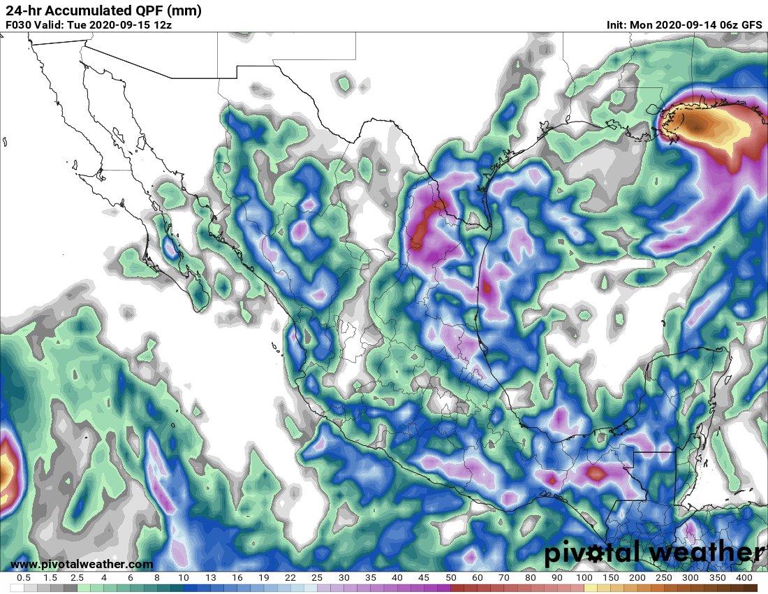 El clima en Veracruz; se mantiene la Alerta Gris