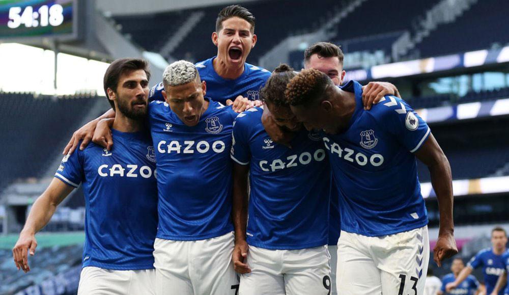 James Rodríguez debuta con triunfo del Everton