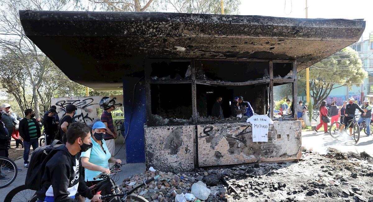 Protestas contra la brutalidad policial en Colombia dejan 10 muertos y más de 200 civiles heridos