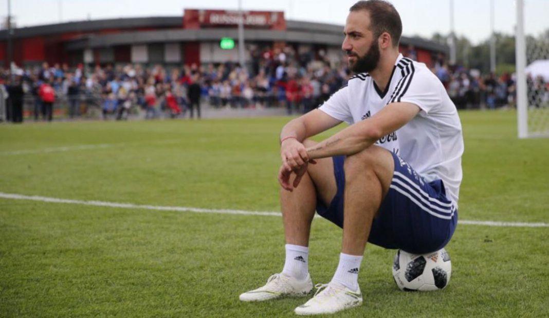 Gonzalo Higuaín acuerda su salida de Juventus