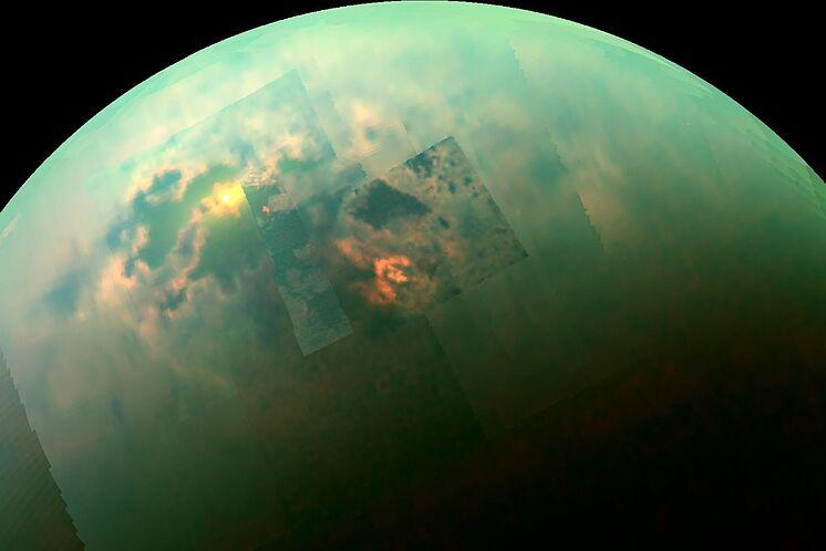 Vehículo nuclear exploraría luna de Saturno.