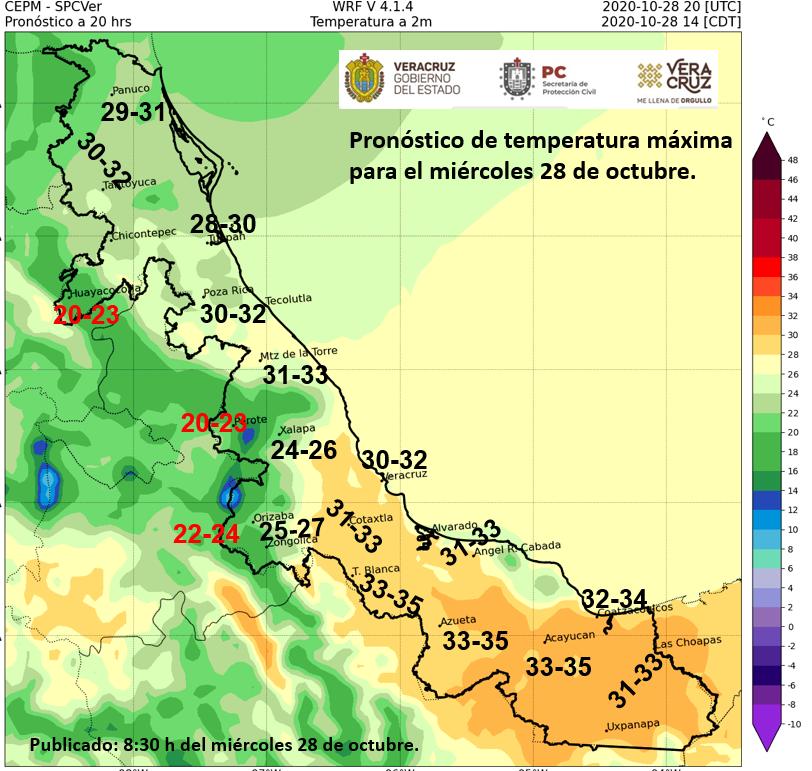Clima en Veracruz: El viento del Norte se intensificará