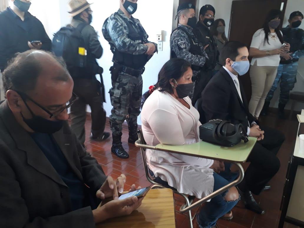 Condenan a María Ovando a 20 años de prisión