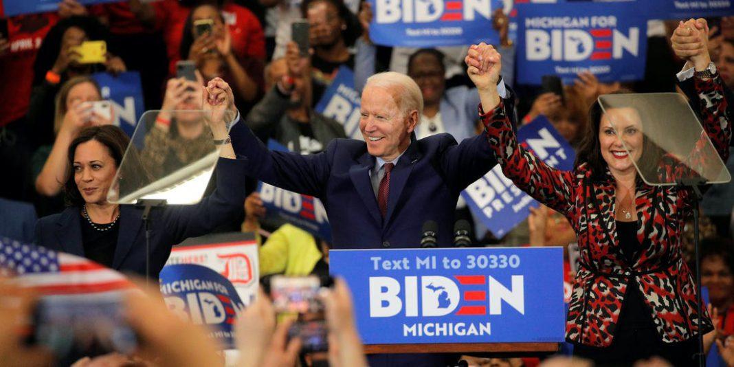Biden consigue ventaja sobre Trump en Michigan.