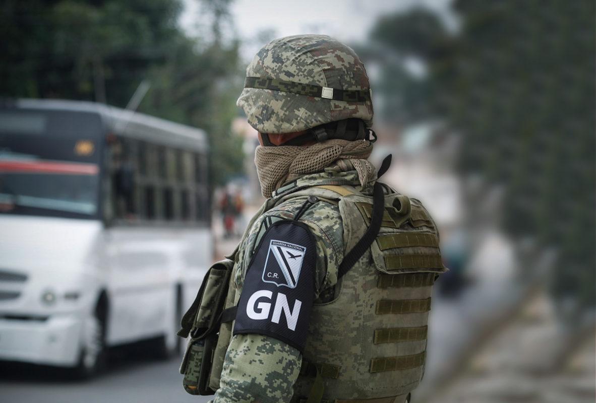 Seis elementos de la Guardia Nacional son detenidos en Chihuahua