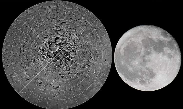La NASA confirma presencia de agua congelada en la Luna