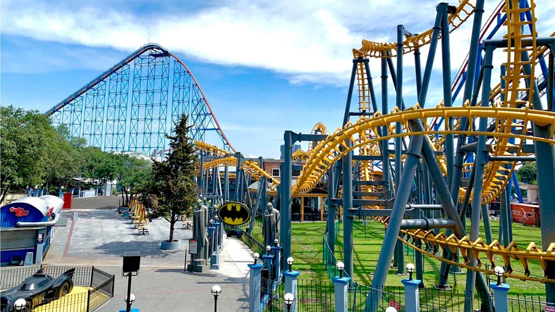 Six Flags abrió sus puertas en plena pandemia de COVID-19