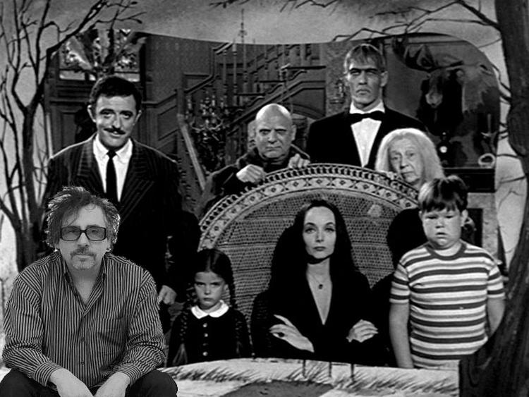 Tim Burton quiere dirigir serie de Los Locos Addams.