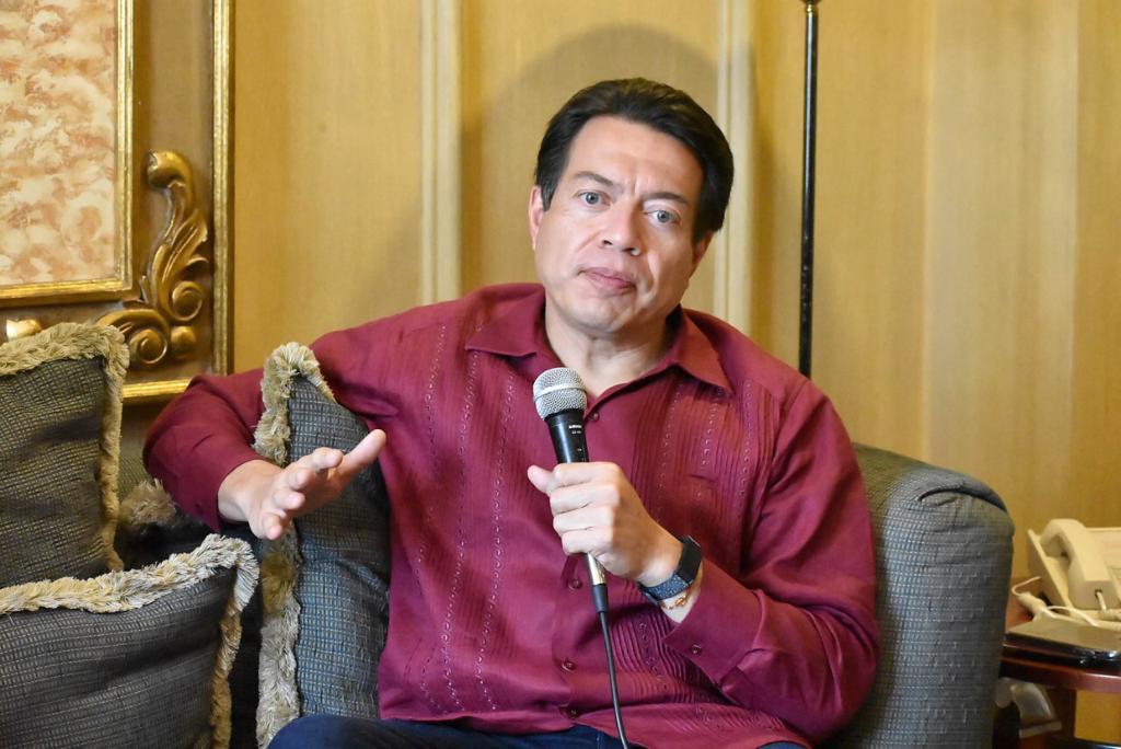 Mario Delgado es el nuevo presidente de MORENA.
