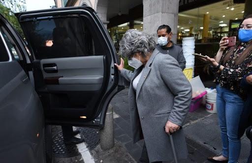 Expresidenta del Poder Judicial de Veracruz estalla contra adversarios.
