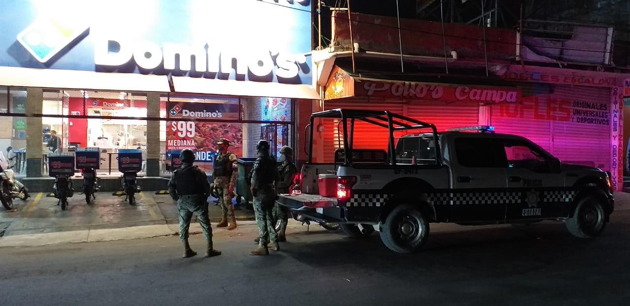 Empleado herido de bala en un intento de asalto a pizzería