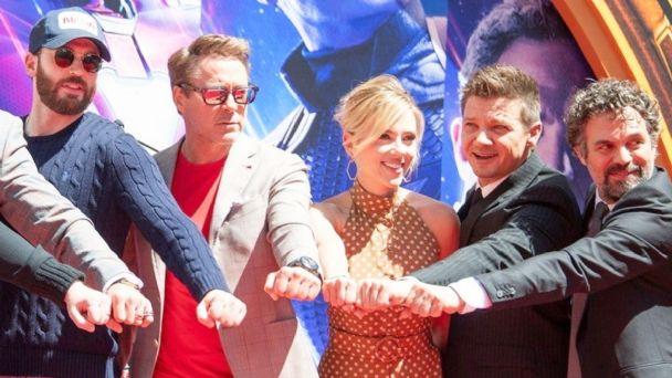 Cast de Avengers recaudan fondos para la campaña de Joe Biden.