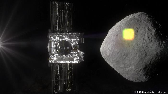 Hoy es la primera vez que la NASA desciende en un asteroide.