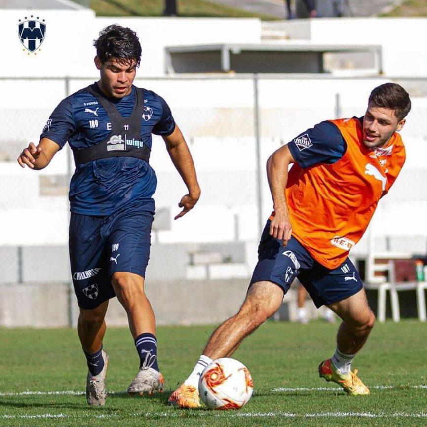 El veracruzano César Pantoja espera su oportunidad con Monterrey y enorgullece al entrenador del Club de Futbol Bulldogs Trigal