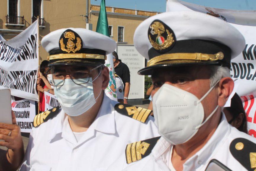Advierten posible toma de puertos por militarización