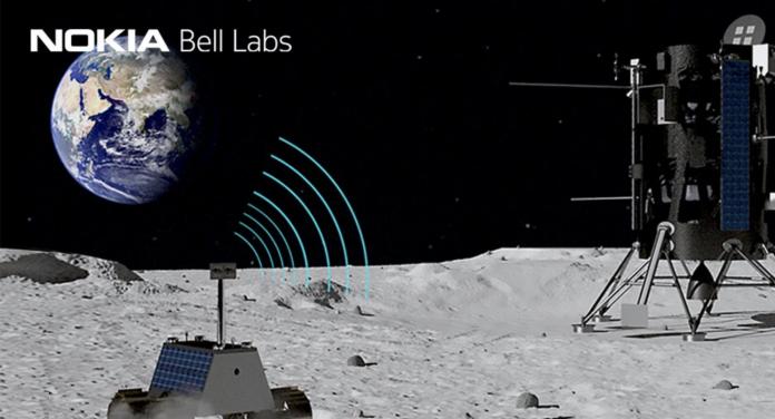 Nokia y la NASA quieren poner una red 4G en la luna.