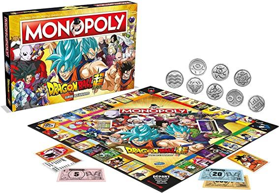 Sacan a la venta Monopoly de Dragon Ball Super.