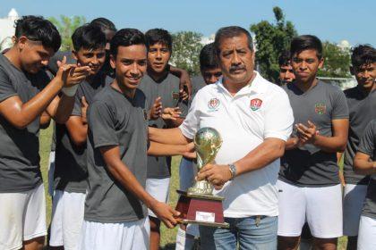 Juárez FC Veracruz festeja título en el Torneo de Verano