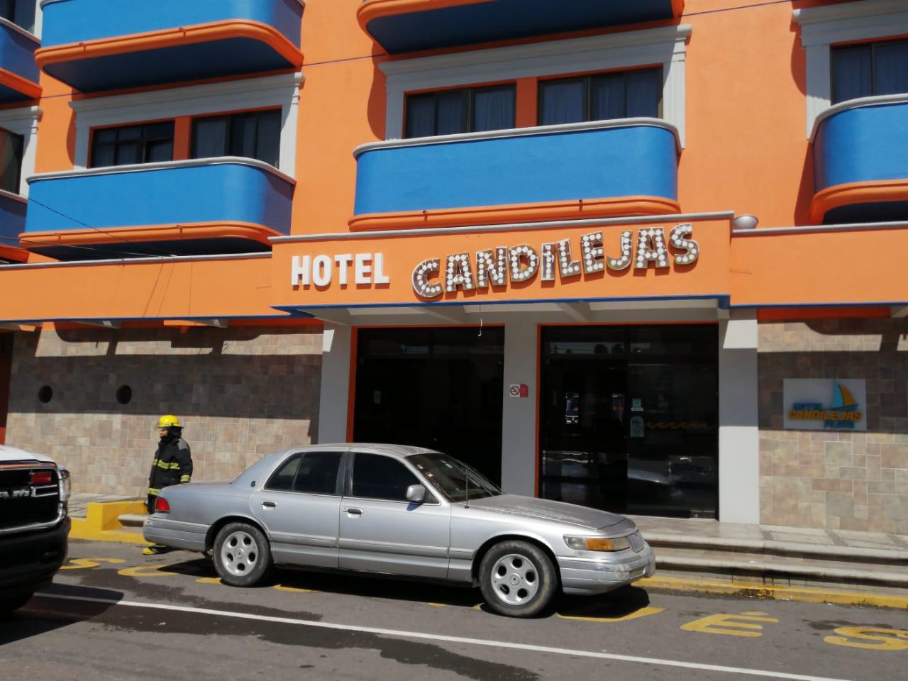 Movilización por fuga de gas en un hotel del bulevar Manuel Ávila Camacho