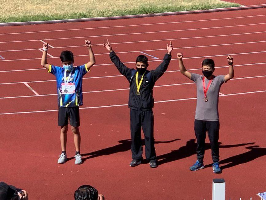 Veracruzana gana competencia en el Serial Atlético de Pista 2020 en la categoría de mil 200 metros en Aguascalientes