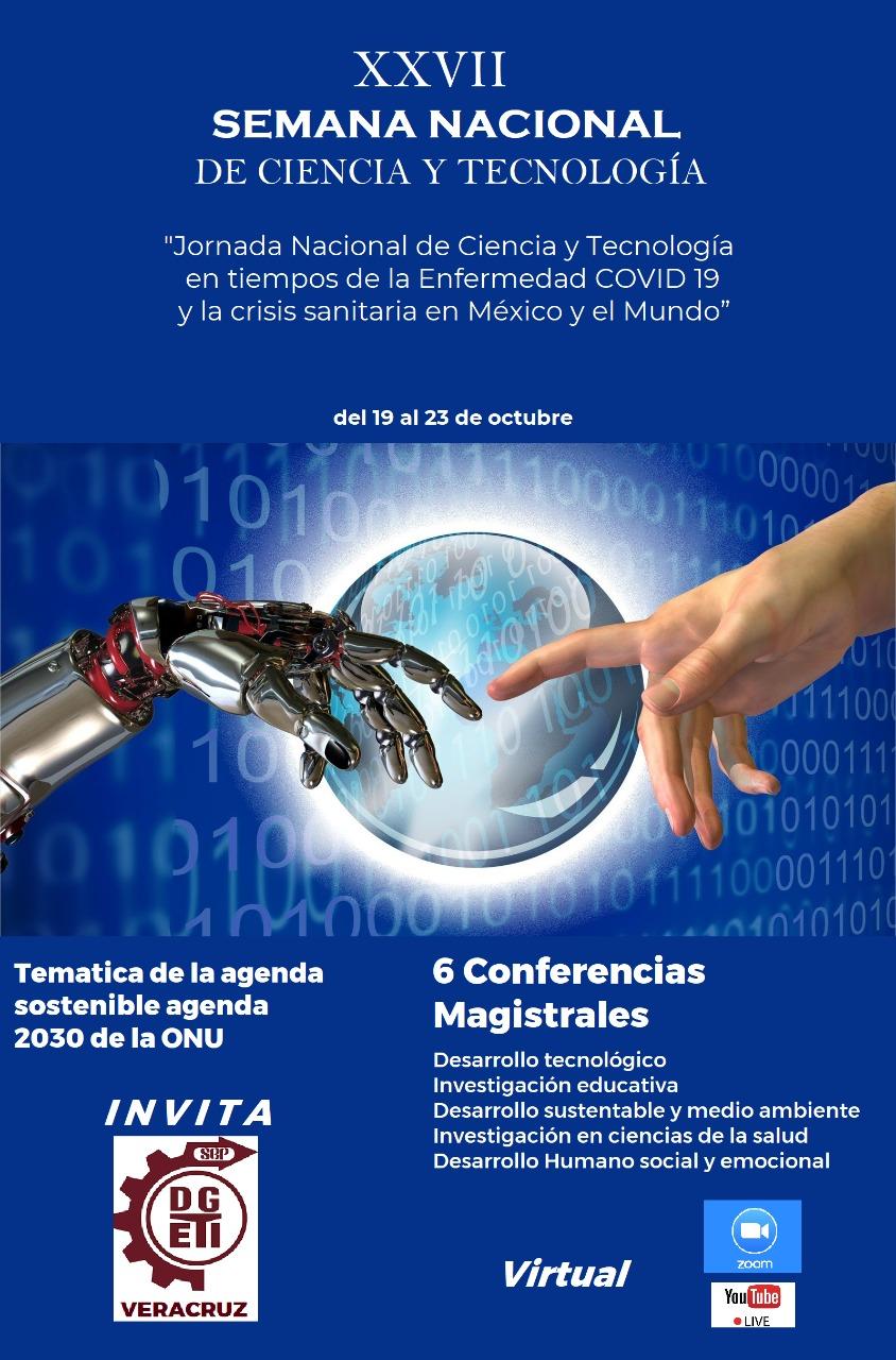 Se llevará a cabo la Jornada Nacional de Ciencia y Tecnología en tiempos de COVID