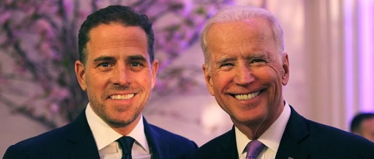 Facebook toma por falso artículo sobre el hijo de Joe Biden.