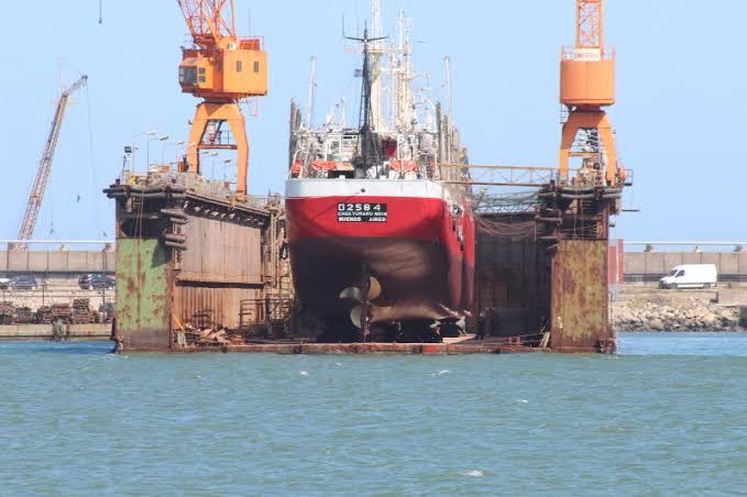 Regresan clientes extranjeros al astillero de Veracruz