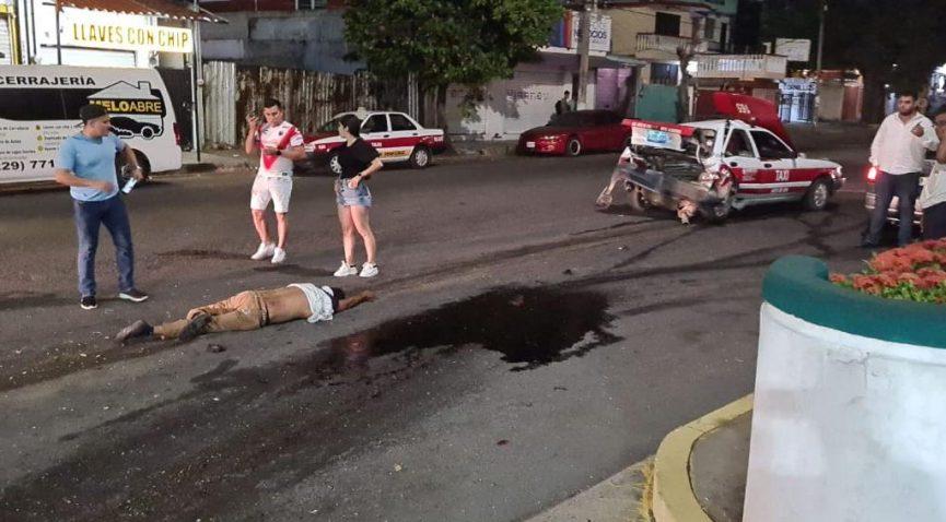 """Falleció taxista que embestido por auto """"fantasma"""""""