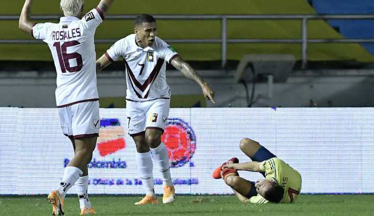 Fuerte lesión de Santiago Arias con Colombia