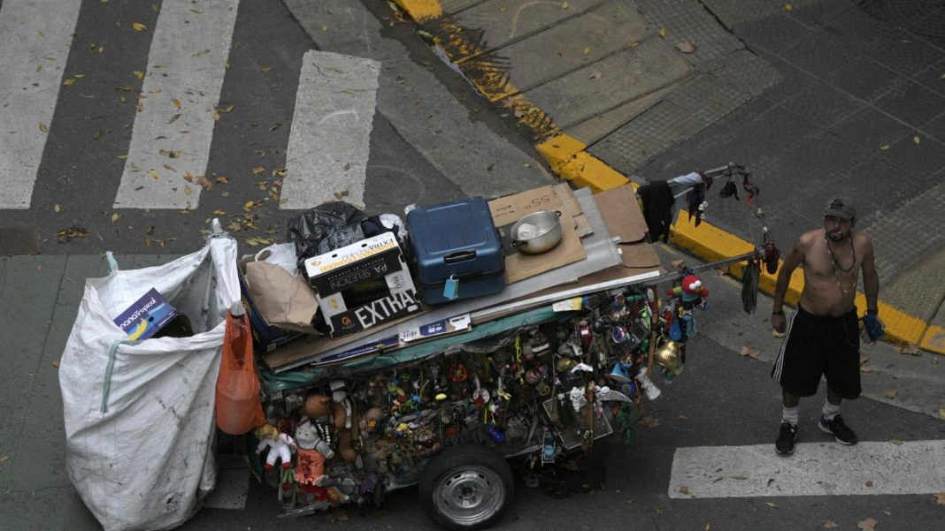 La pobreza alcanza al 40.9% de los argentinos este 2020.