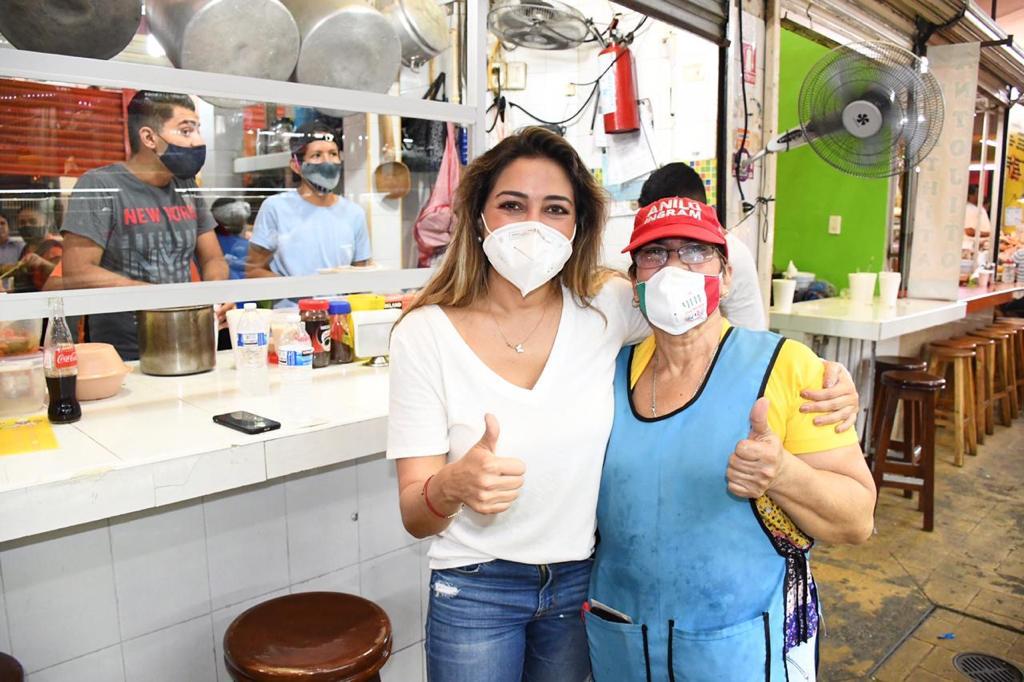 Se necesita apoyo al comercio local para salir adelante: Anilú Ingram